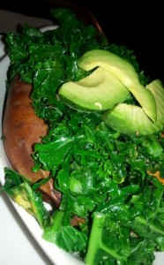 Get the greens in any way you can!  Top a potato! Throw on some avocado :)