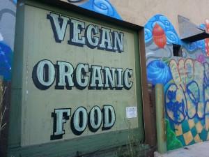 vegan organic food