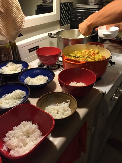 joe's cauli dinner